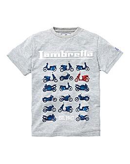 Lambretta Boys Motto Graphic T-Shirt