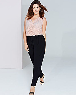Girls On Film Lace Jumpsuit