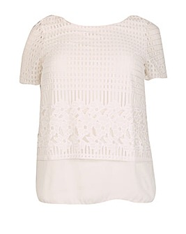 Samya Layered Mesh T-Shirt