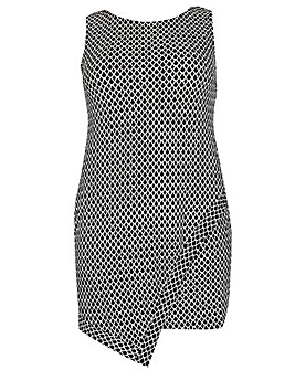 Samya Geometric Print Dress