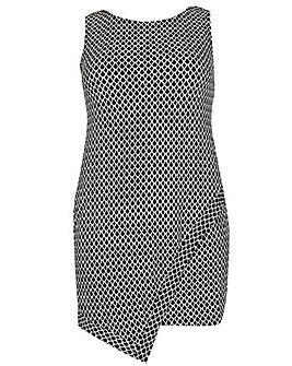 Samya Geometric Print Dress