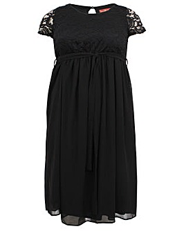 Lovedrobe GB Lace Chiffon Dress