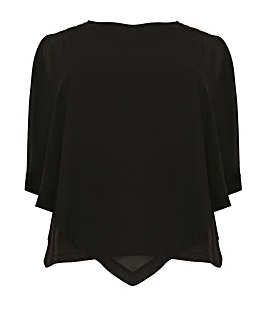 Samya Plus Size Layered Top