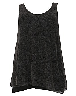 emily Open Back Layered Top