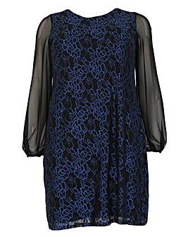emily Lace Swing Dress