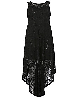 Samya Lace Waterfall Dress