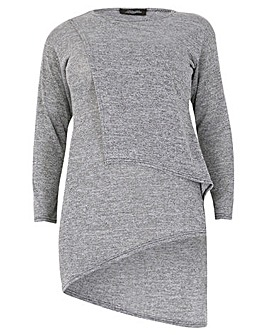 Feverfish Double Layer Knitted Tunic
