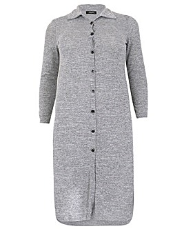 Feverfish Knitted Cardi Dress