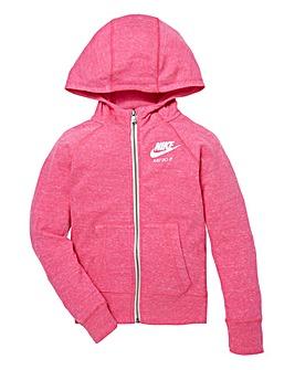 Nike Girls Gym Vintage FZ Hoodie