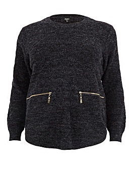 Koko Zip Detail Jumper