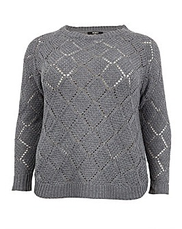 Koko Diamond Knit Jumper