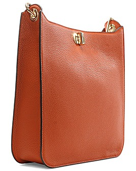 Michael Kors Orange Leather Cross Body