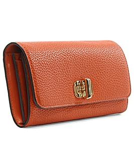 Michael Kors Orange Carryall Wallet
