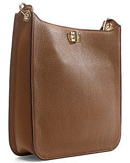 Michael Kors Tan Leather Cross Body