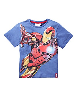 Avengers Boys Iron Man T Shirt
