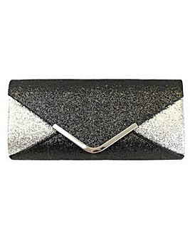 Glitter Effect Clutch Bag
