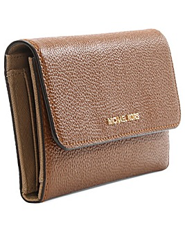 Michael Kors Leather Tri-Fold Wallet