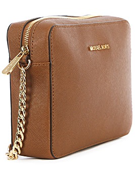 Michael Kors Tan Leather Crossbody