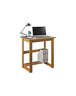 Office Desk - Beech Effect.