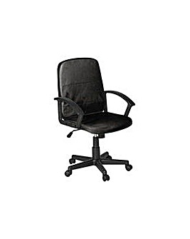 Brixham Height Adjustable Chair - Black