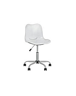 Delta Height Adjustable Chair - White.