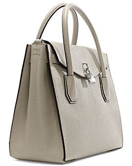Michael Kors Grey Backpack / Tote Bag