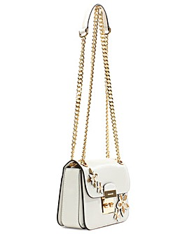 Michael Kors white Leather Shoulder Bag