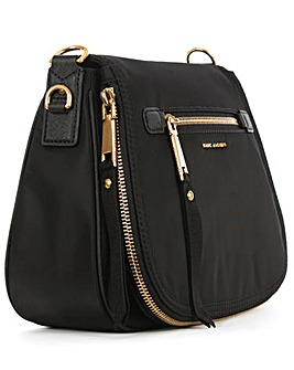 Marc Jacobs Black Saddle Bag