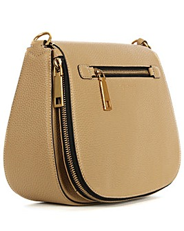 Marc Jacobs  Beige Leather Saddle Bag