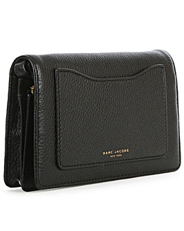 Marc Jacobs Leather Wallet With Strap