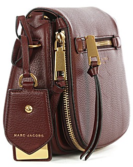 Marc Jacobs Red Leather Saddle Bag