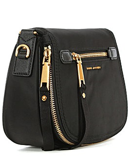 Marc Jacobs Black Saddle Bag