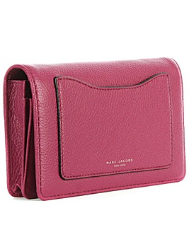 Marc Jacobs Red Wallet With Strap