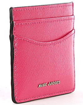 Marc Jacobs Pink Leather Card Case