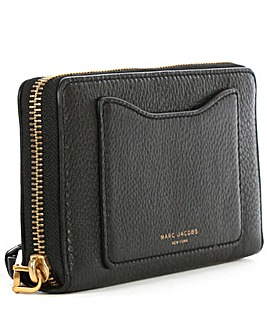 Marc Jacobs Black Zip Around Wallet