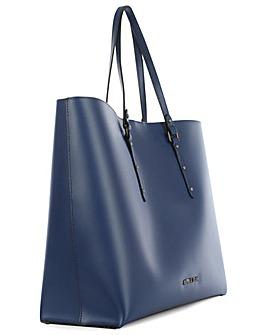 Armani Jeans Blue Tote Bag