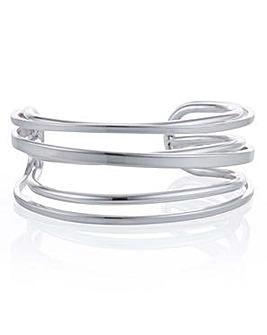 Mood cross over cuff bracelet