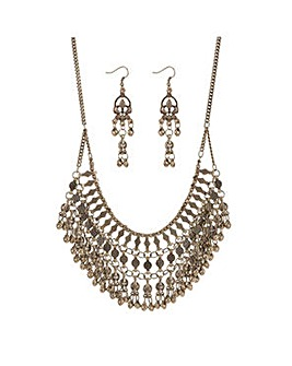 Mood multi layered chain jewellery set