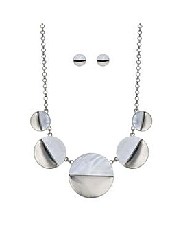 Mood half circle jewellery set