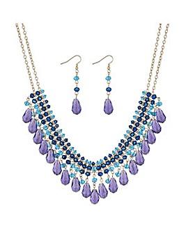 Mood Beaded Collar Jewellery Set