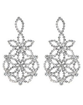 Mood crystal diamante earring