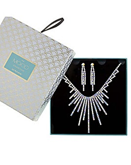 Mood Crystal Spray Jewellery Set