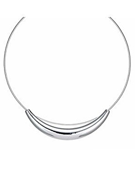 Mood sleek bar collar necklace