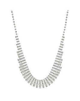 Mood crystal diamante choker necklace