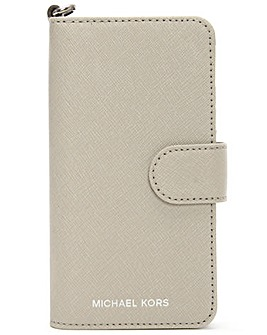 Michael Kors Grey Leather iPhone 7 Case