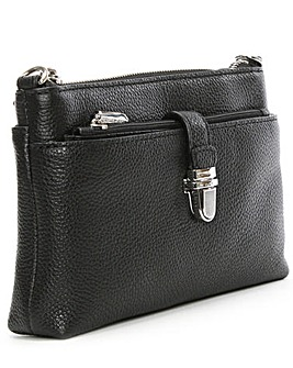 Michael Kors Black Leather CrossBody Bag