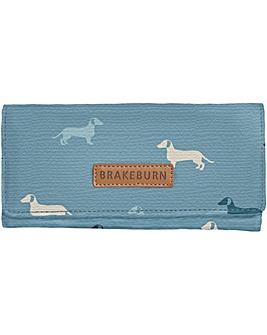 Brakeburn Sausage Dog Fold Over Purse