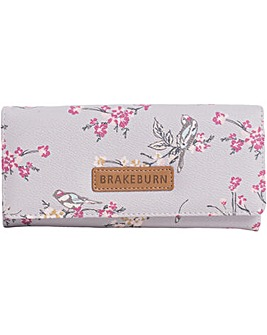 Brakeburn Bird Blossom Fold Over Purse