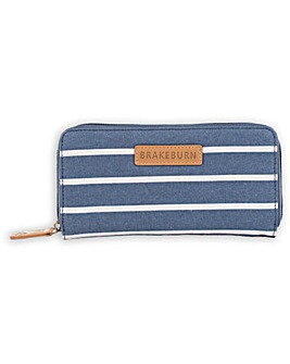 Brakeburn Stripe Canvas Purse