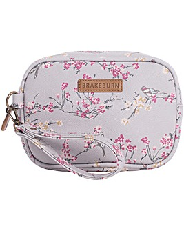Brakeburn Bird Blossom Small Wash Bag